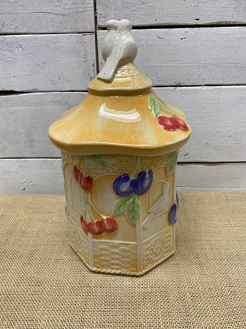 Royal Worchester Biscuit Jar
