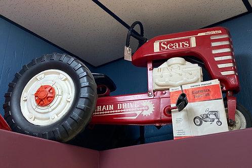 Sears Sidewalk Tractor