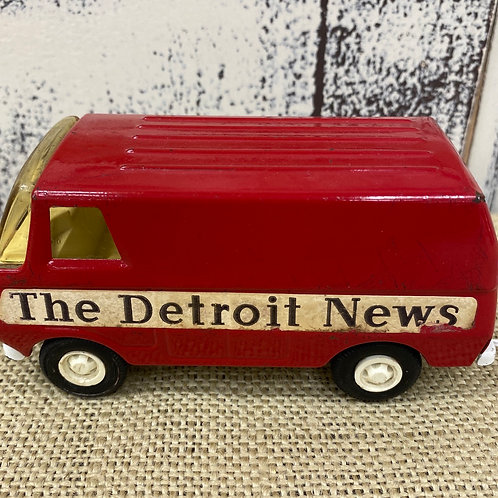 Tonka The Detroit News Truck