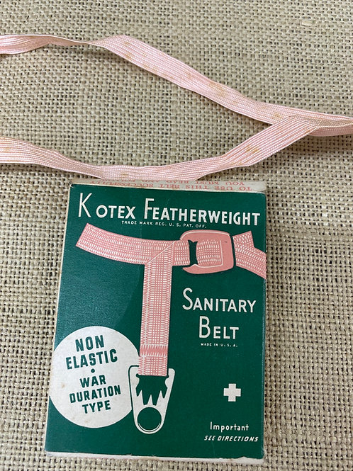 Kotex Sanitary Belt