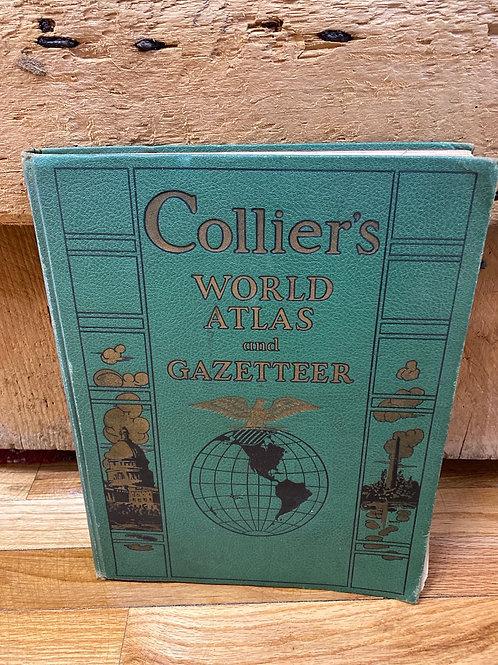 Collier's World Atlas