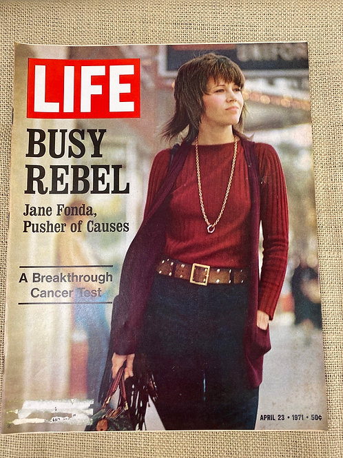 Life Magazine featuring Jane Fonda