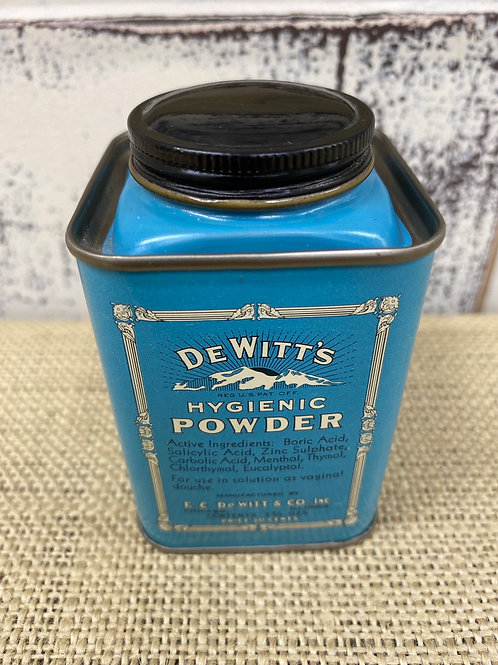 DeWitt's Hygenic Powder