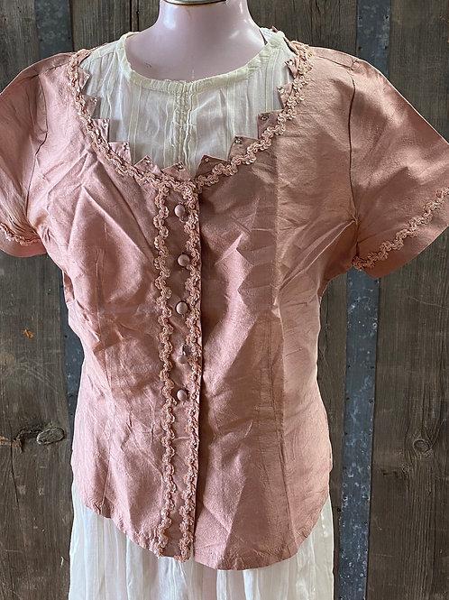 Silk Blend Vintage Blouse