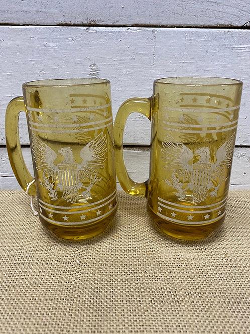 Amber Americana Glasses
