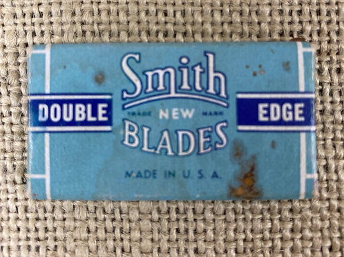 Smith Blades Container w/ Unused Blades
