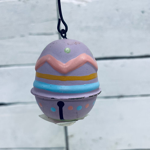 Purple Egg Ornament