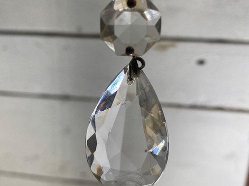 Set of 3 Crystal Chandelier Baubles