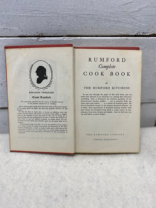 Book: Rumford Complete Cook Book
