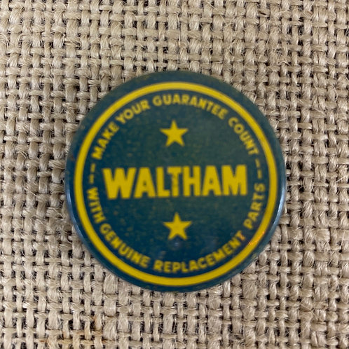Waltham Tin Container for Watch Parts