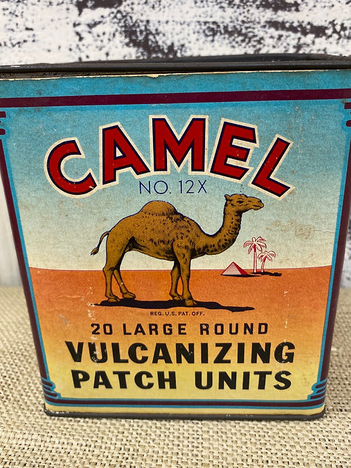 Camel Vulcanizing Patch Tin