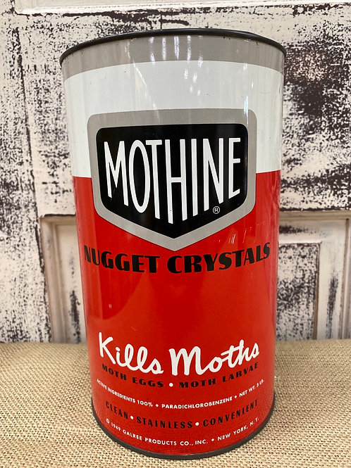 Mothine Moth Crystals Tin