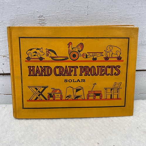 Book: Hand Craft Projects