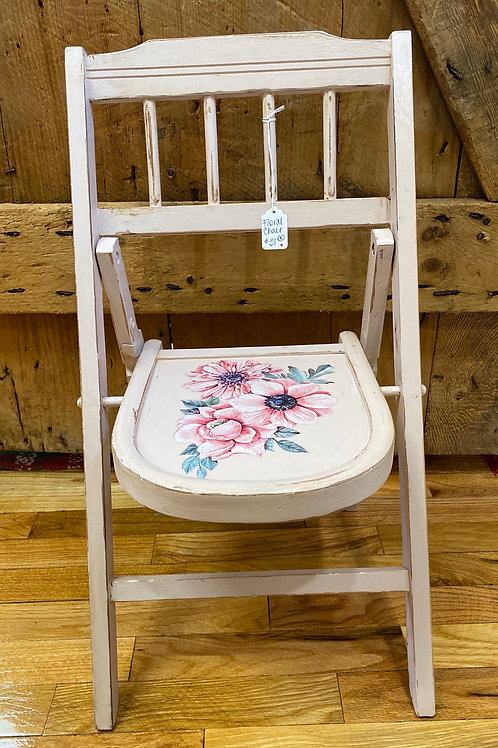 Floral Child's Chair