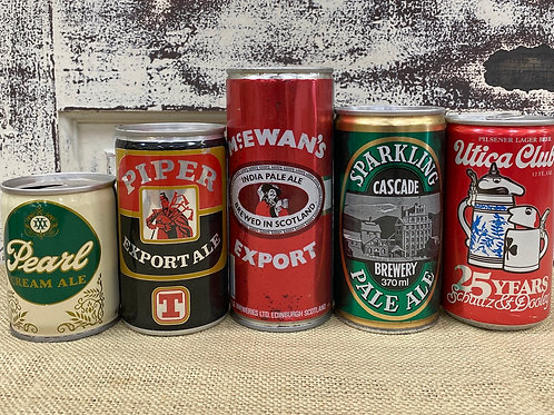 Collectible Beer Cans