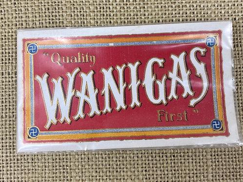 Wannigas Cigar Label