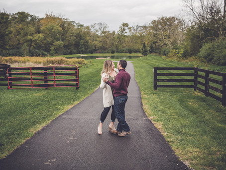 kalyn + brad | engagement session | engagement & wedding photographer in dayton, ohio