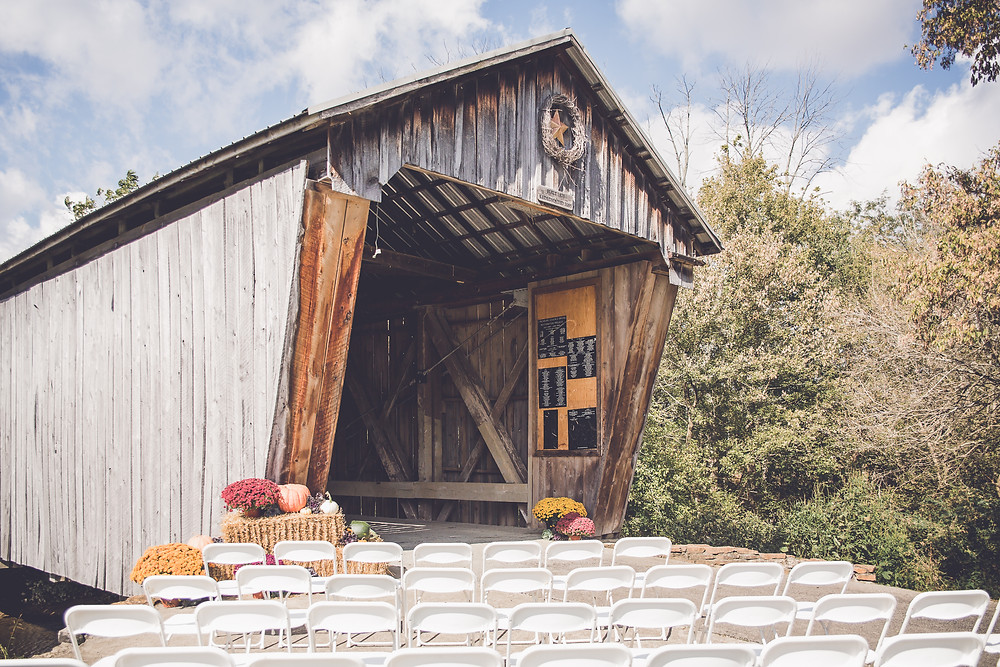 lynchburg covered bridge wedding