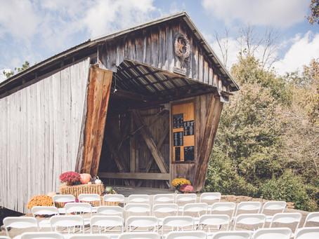 aryn + eric | intimate wedding | wedding photographer in dayton, ohio