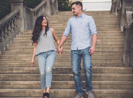 taschia + kyle   engagement session   engagement & wedding photographer in cincinnati, ohio