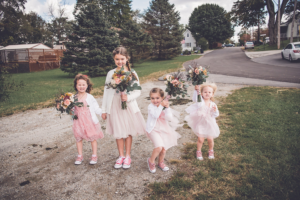 little girls wedding