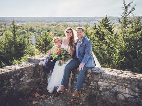 brittany + bret | farm wedding | wedding photographer in ann arbor, michigan