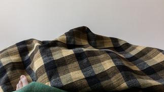 Counterpane blanket landscape