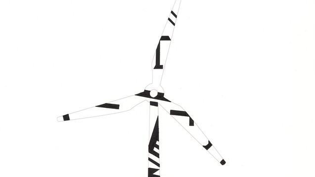 windmill turbine camouflage