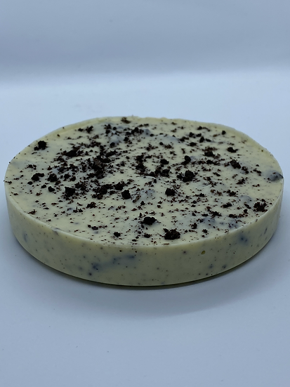 White Chocolate Cookies and Cream Disc