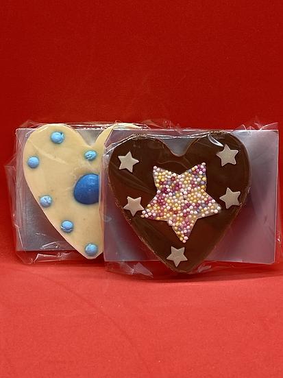 Small Chocolate Hearts