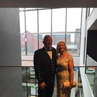 Owners Charles & Lorraine Watson at the NFFF Ball 2019