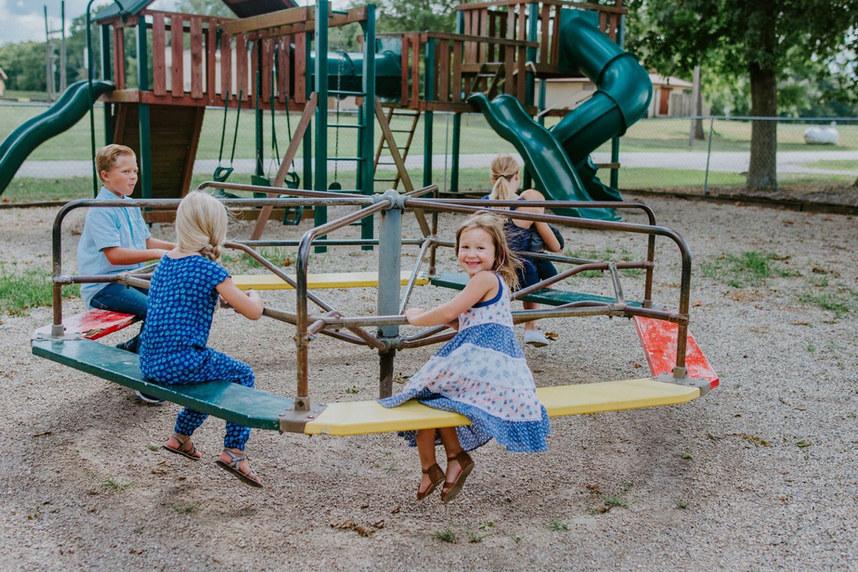Community Playground - Merry-go-round