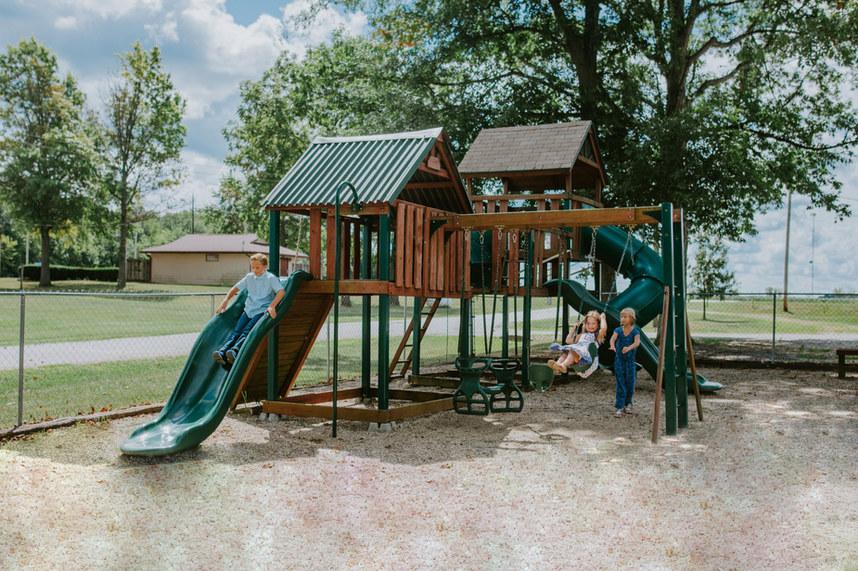Community Building Playground