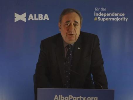 Alba will strengthen independence but weaken Sturgeon.