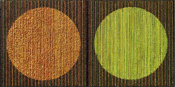 C P G THE ORANGE & GREEN CIRCLE (SOLD)