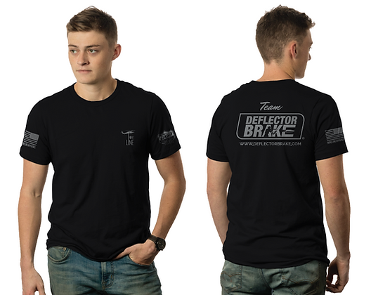 Team Deflector Brake, Lucas Oil, Nine Line Apparel T-Shirt