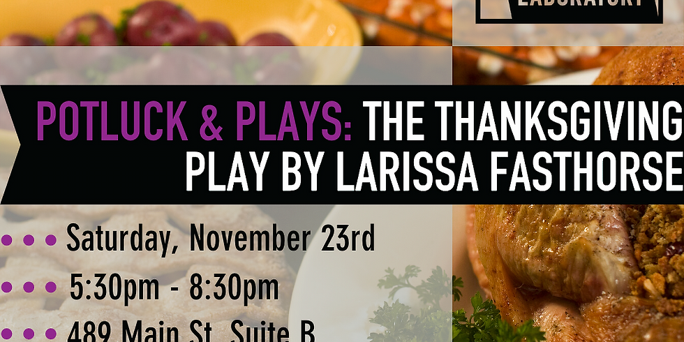 Potluck & Plays: The Thanksgiving Play