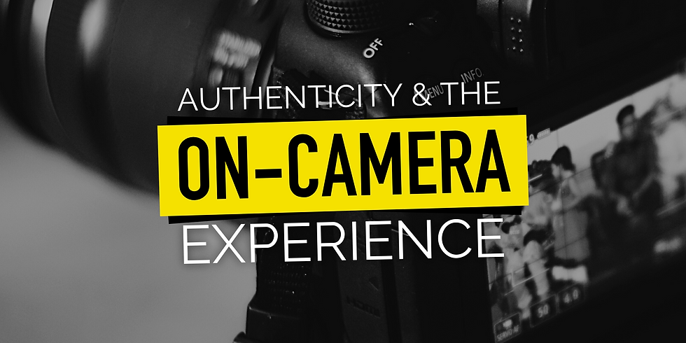 Authenticity & The On-Camera Experience (with REBECCA HARRIS)