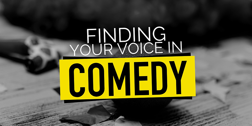 Finding Your Voice in Comedy (with AMY CROSSMAN)