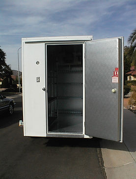 Walk-in cooler delivered to any greater Phoenix location