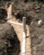 Sewer line yard plumbing Leander TX