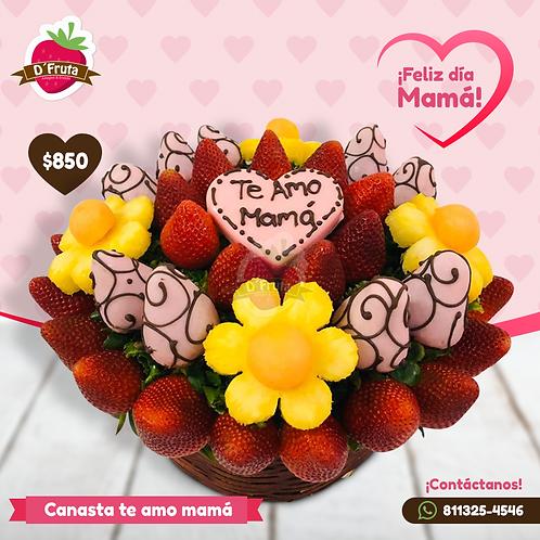 Canasta Te amo mamá