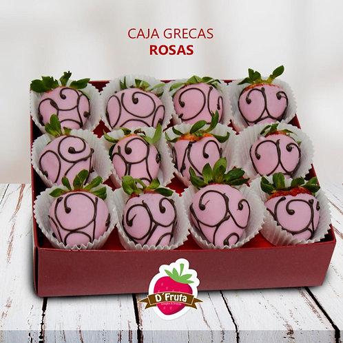 Caja Grecas Rosas
