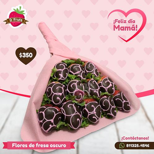 Flores de Fresa Oscuro
