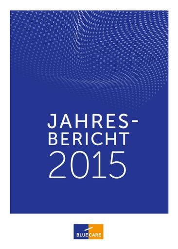 Jahresbericht 2015 - Neuorientierung und Neudefinition
