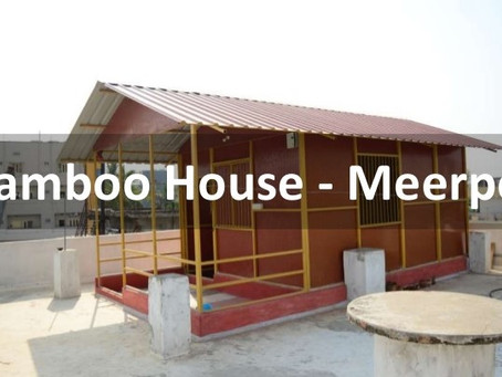 Our Bamboo House in Meerpet, Rangareddy District, Telangana