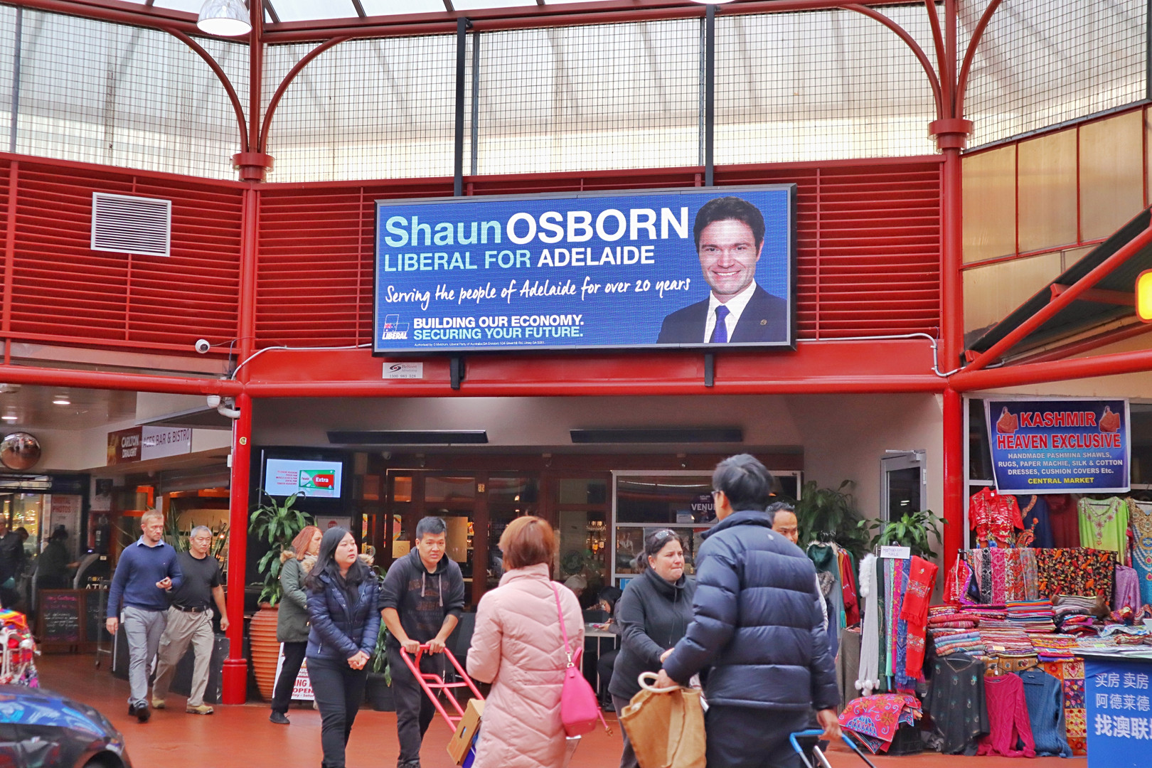 Shaun Osborn Federal Election