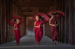 Giovani monaci buddisti