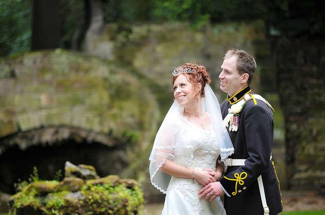 Military Wedding Photography, Pete Davis Wedding Photograph