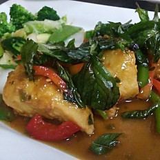 Spicy Basil Fish